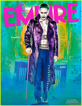 Jared Leto Bares His Abs as The Joker for 'Empire Magazine'