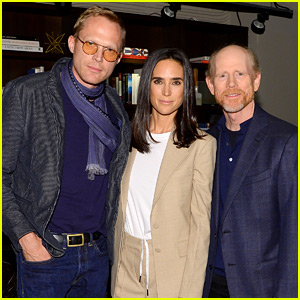 Jennifer Connelly & Husband Paul Bettany Screen 'Shelter' in NYC!