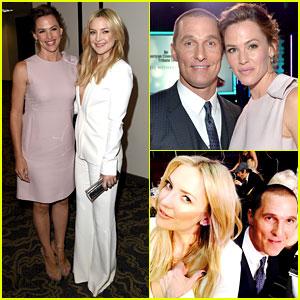 Jennifer Garner & Kate Hudson Reunite with Their Leading Man Matthew McConaughey!