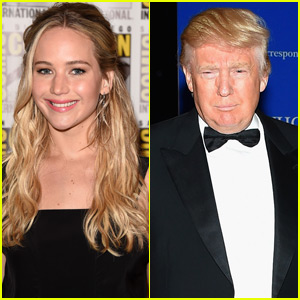 Jennifer Lawrence: Donald Trump Becoming President Would Be 'The End of the World'
