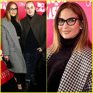 Jennifer Lopez & Casper Smart Are Picture Perfect at 'Rock the Kasbah' Premiere!