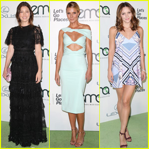 Jessica Biel & Gwyneth Paltrow Step Out in Style for Environmental Media Association Awards 2015