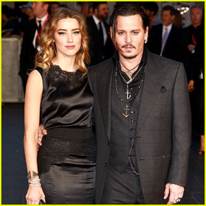 Johnny Depp Gets Support From Wife Amber Heard at 'Black Mass' London Screening