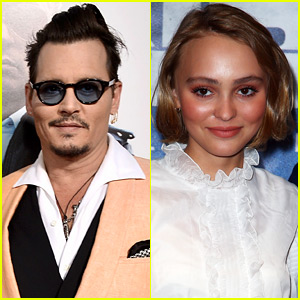 Johnny Depp Admits He's 'Quite Worried' About Daughter Lily-Rose Depp's Modeling Career
