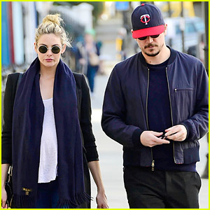 Josh Hartnett & Pregnant Girlfriend Tamsin Egerton Step Out Together