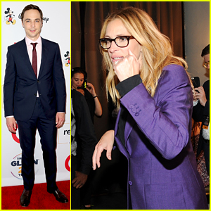 Julia Roberts & Jim Parsons Among Celebs at GLSEN Respect Awards