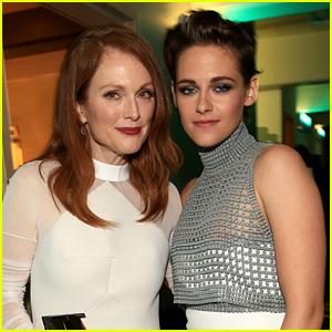 Julianne Moore Forced to Pick Between Kristen Stewart & Robert Pattinson