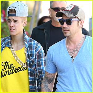 Justin Bieber's Dad Makes Awkward Joke About His 'Thing'