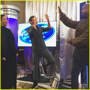 Kanye West Auditions for 'American Idol' in San Francisco (Video)