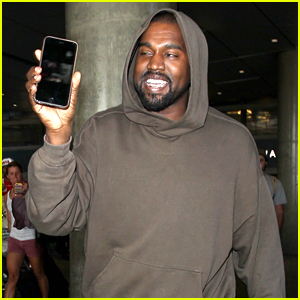 Kanye West FaceTimes Wife Kim Kardashian After Arriving Back In LA