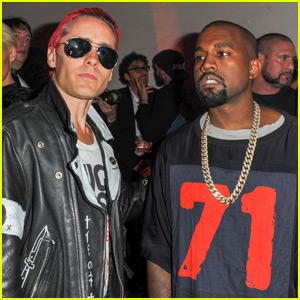 Kanye West & Jared Leto Celebrate Vogue's 95th Anniversary