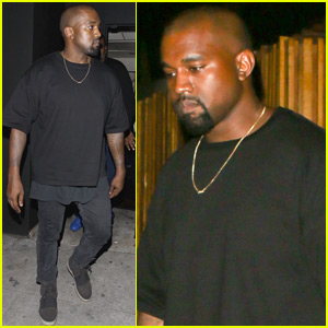 Kanye West Heads Out For Solo Dinner After Taking North to King Cairo's Birthday Party