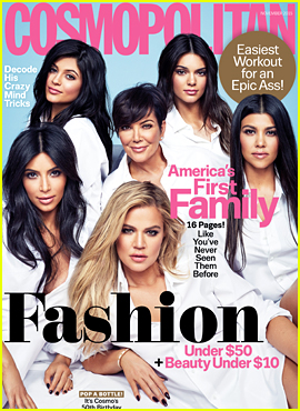 Kardashian-Jenners Deemed 'America's First Family' by 'Cosmo'