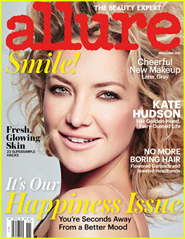 Kate Hudson Covers 'Allure,' Talks About 'Completely Insane' Ways of Staying in Shape