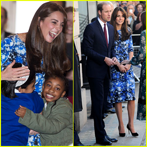 Kate Middleton Gets the Biggest Hug From These Kids!