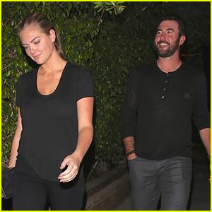 Kate Upton Goes On a Date with Boyfriend Justin Verlander