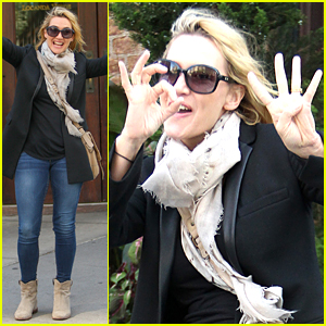 Kate Winslet Looks Ecstatic to Be Turning 40 Today!
