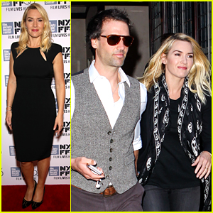 Kate Winslet Makes Rare Appearance with Hubby Ned Rocknroll
