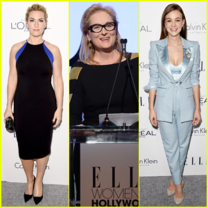 Kate Winslet, Meryl Streep & Carey Mulligan Bring Star Power To Elle's Women In Hollywood Awards 2015!