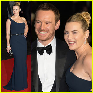 Kate Winslet & Michael Fassbender Glam Up 'Steve Jobs' Closing Night Gala