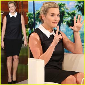 Kate Winslet Talks Turning 40 on 'Ellen' - Watch Now!