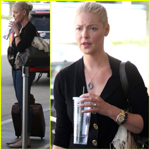 Katherine Heigl Flies Out of L.A. After Wrapping 'Unforgettable'