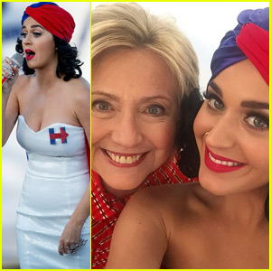 Katy Perry Shows Her Support for Hillary Clinton In Instagram Takeover