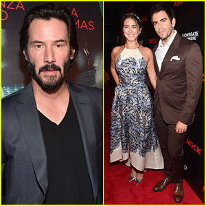Keanu Reeves Brings 'Knock Knock' To Hollywood with Lorenza Izzo & Eli Roth!
