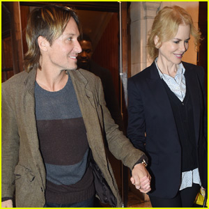 Keith Urban Celebrates His Birthday With Wife Nicole Kidman in London
