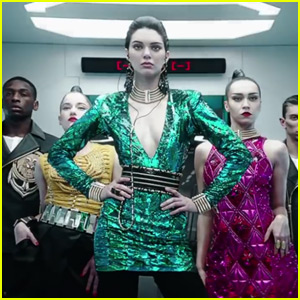 Kendall Jenner is Futuristic for Balmain x H&M Campaign Video