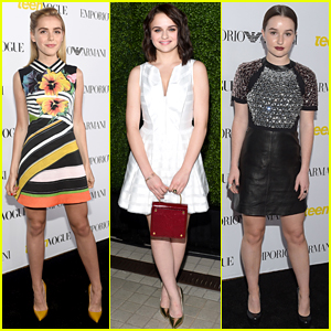 Kiernan Shipka, Joey King, & Kaitlyn Dever Are Classy Ladies at Teen Vogue's Young Hollywood Party