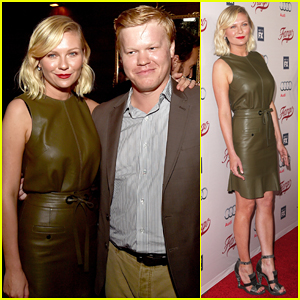 Kirsten Dunst Celebrates With 'Fargo' Cast Ahead Of Season 2 Premeire!