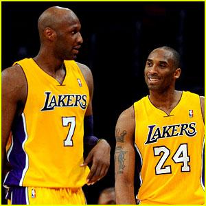 Kobe Bryant Breaks Silence on Lamar Odom's Hospitalization