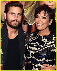 Kris Jenner Brings Scott Disick's Kids to Visit Him in Rehab