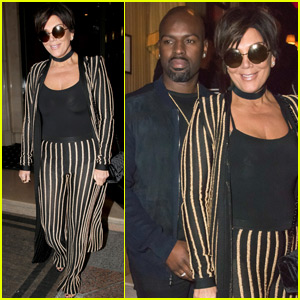 Kris Jenner Wears An Outfit Straight Out Of Kim's Closet!