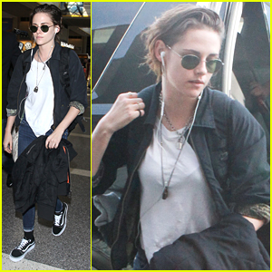 Kristen Stewart Takes To The Skies Once Again In Los Angeles