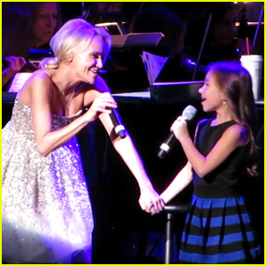 Kristin Chenoweth Moved to Tears by 8-Year-Old Duet Partner!