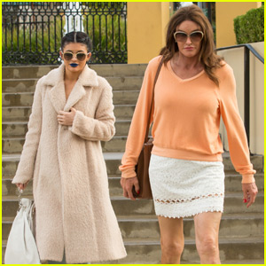 Caitlyn Jenner Spends Time With Daughter Kylie in Calabasas