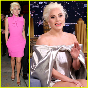 Lady Gaga Talks Engagement Ring with Jimmy Fallon