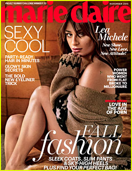 Lea Michele Says Her Butt Is 'a Showstopper'