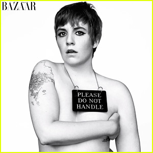 Lena Dunham Strips Down for Harper's Bazaar Cover Feature