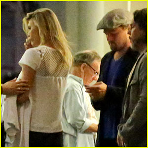 Leonardo DiCaprio Grabs Dinner with Girlfirend Kelly Rohrbach