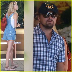 Leonardo DiCaprio Grabs Sunday Brunch with Kelly Rohrbach & Friends