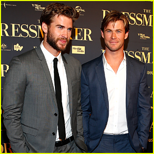 Chris Hemsworth Supports Brother Liam At 'The Dressmaker' Premiere in Melbourne