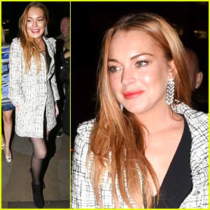 Lindsay Lohan & Hofit Golan Enjoy A Girls Night Out In London