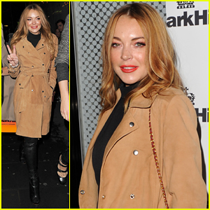 Lindsay Lohan Is Radiant At Mark Hill Launch Party!