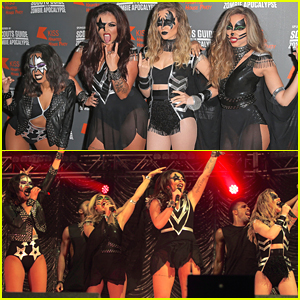 Rita Ora & Little Mix Perform At KISS FM's Haunted House Party