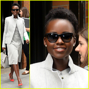 Lupita Nyong'o Makes a Fashionable Exit from 'The View'