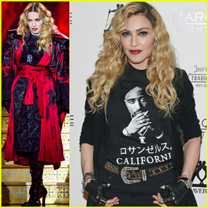 Madonna Brings the 'Rebel Heart Tour' to Las Vegas