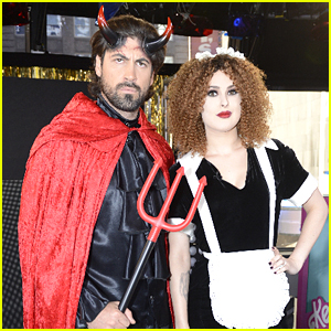 Rumer Willis & Maksim Chmerkovskiy Dress Up For Halloween on 'Good Morning America'